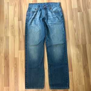 Lucky Brand 30 x 30 Loose Straight Mechanic Jeans